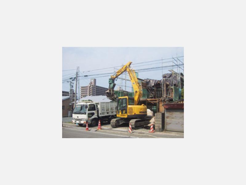 一般住宅の解体工事