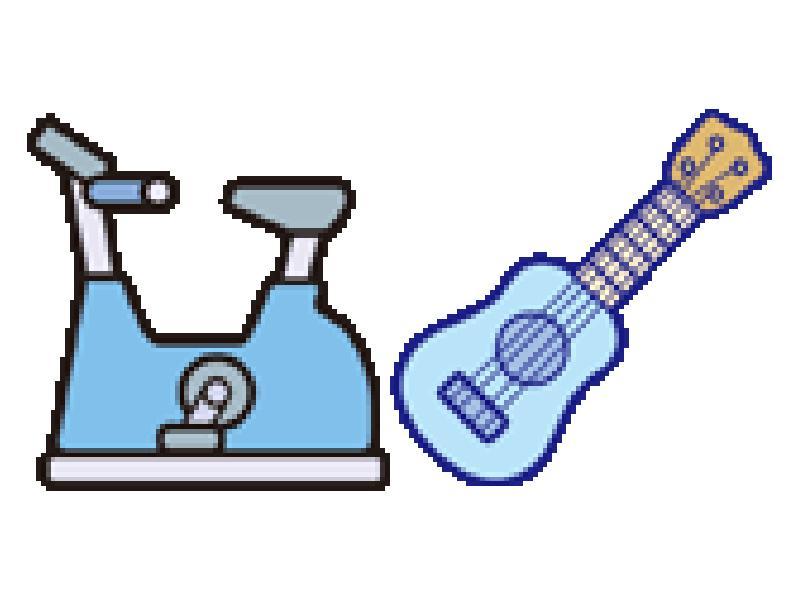 楽器、スポーツ用品も