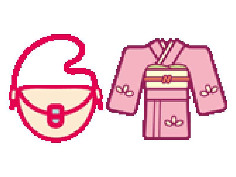 バッグ、衣料雑貨、着物まで
