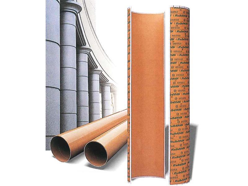 真円型で垂直円柱造りに最適