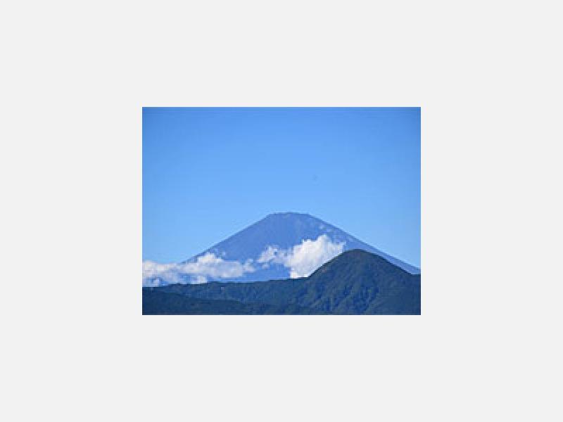 小田原から望む富士山