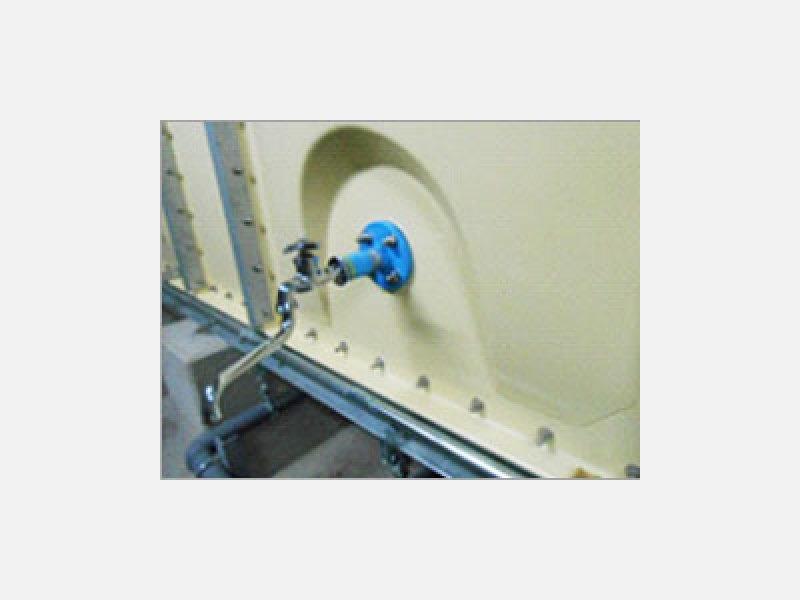 地震、停電に備えてタンクに蛇口を設置