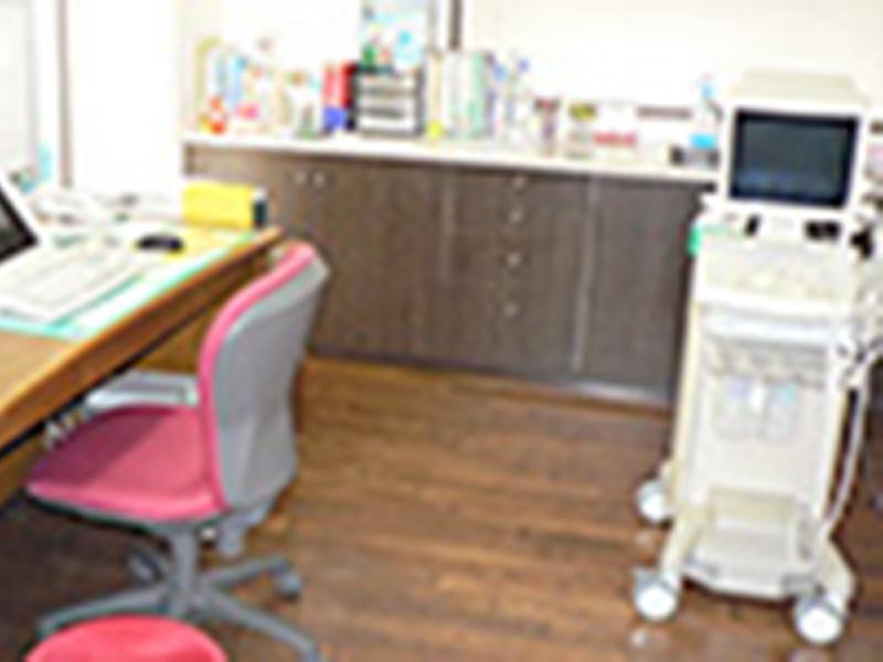 診察時に超音波検診も可能です
