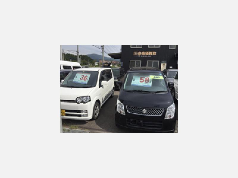 国産車・外国車・事故車も買取・販売