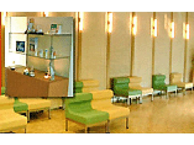 アロマテラピーを導入した待合室