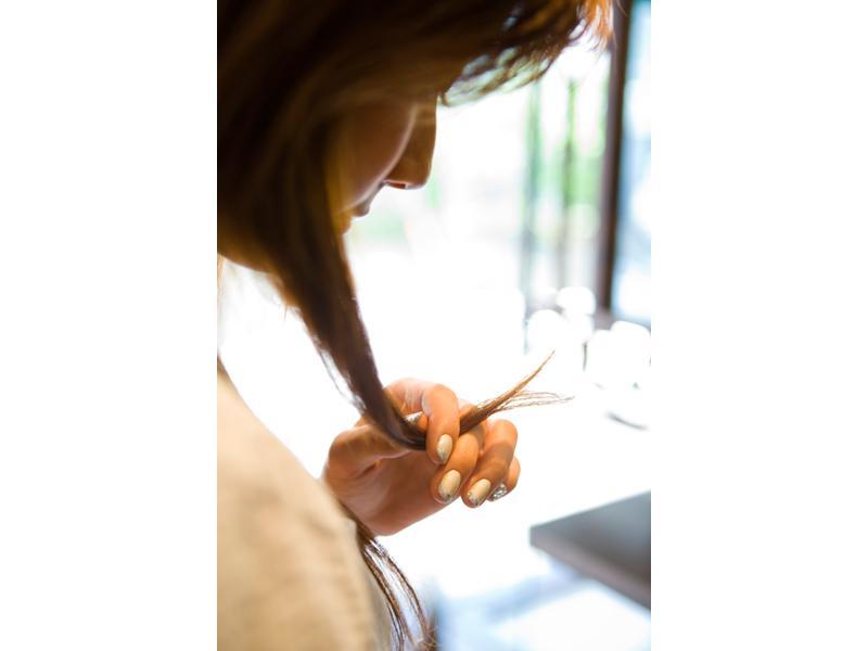 髪の痛みが気になる方はぜひご相談ください。