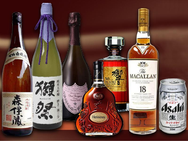 眠っている日本酒、ウイスキー、ワイン等お売り下さい!
