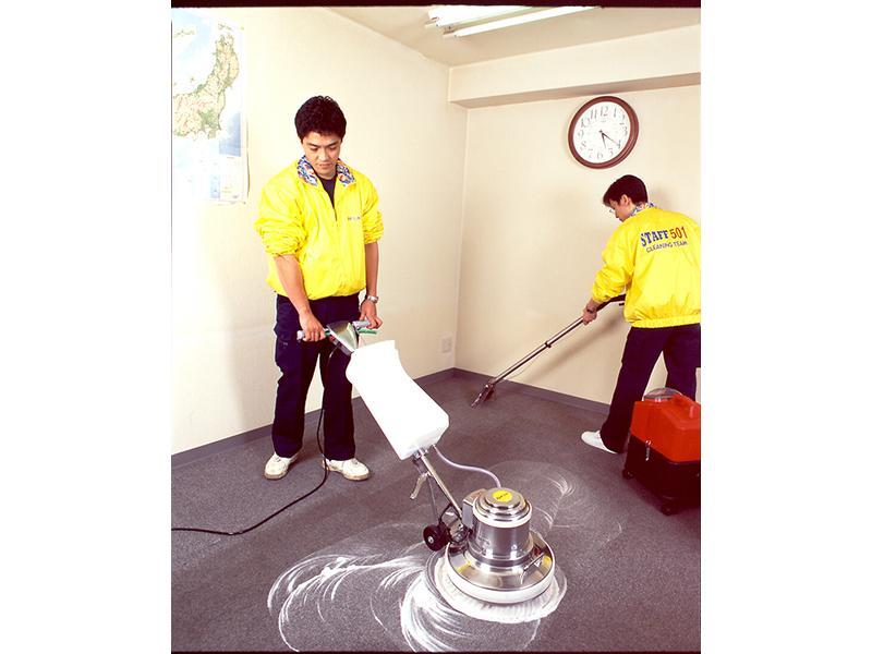 ◇フロアーの洗浄ワックス
