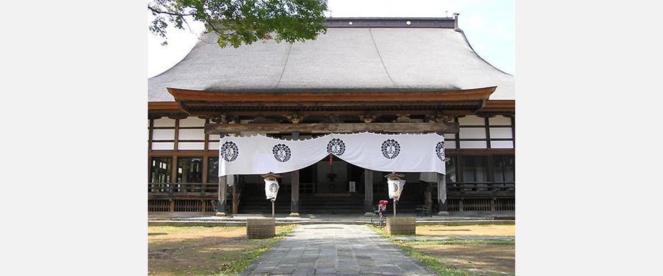 上越市寺町のペット霊園のあるお寺です