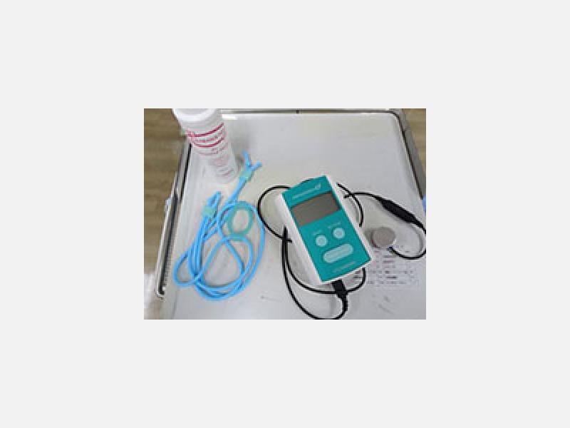 超音波治療器を効果的に応用しています。