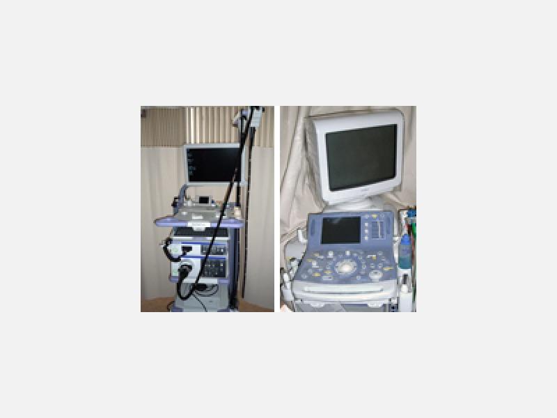 NBI.拡大最新内視鏡システム/超音波検査