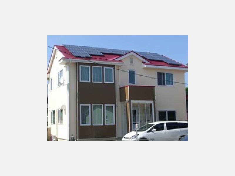 外壁屋根塗装・太陽光パネル設置後