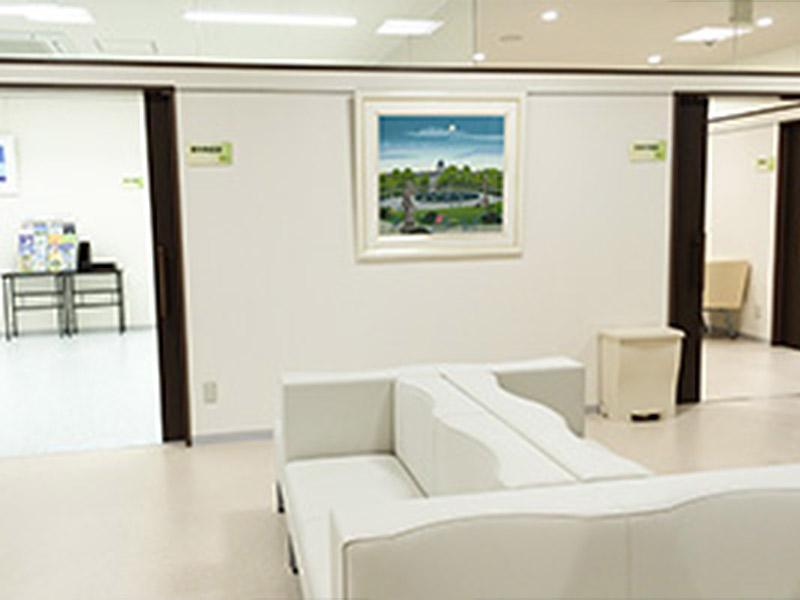 ◆眼科 待合室