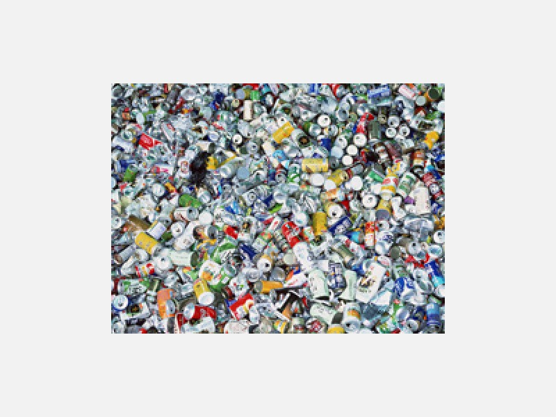 空き缶回収