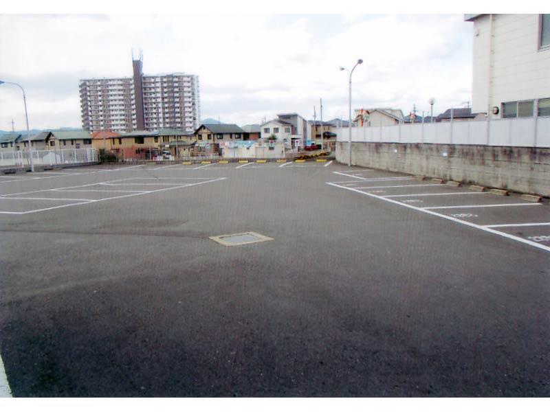 広々駐車場