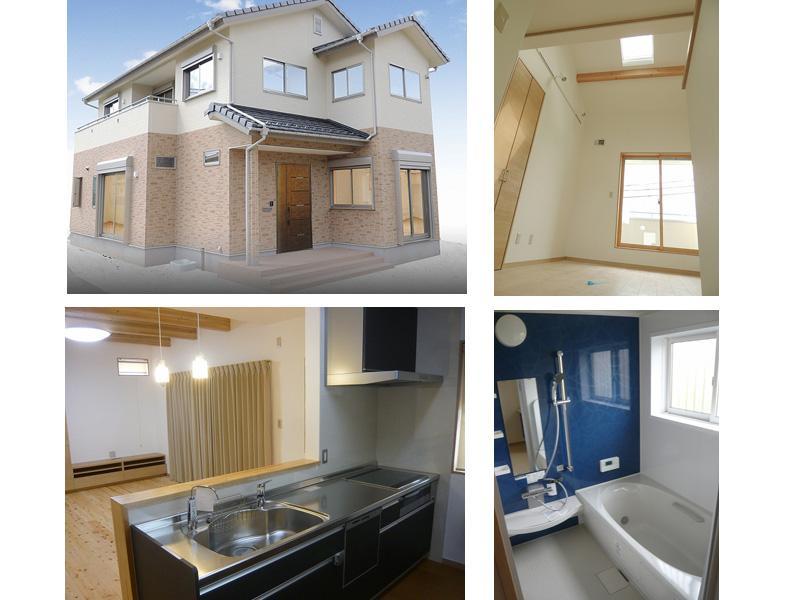 ■新築例(自然素材に囲まれた家)