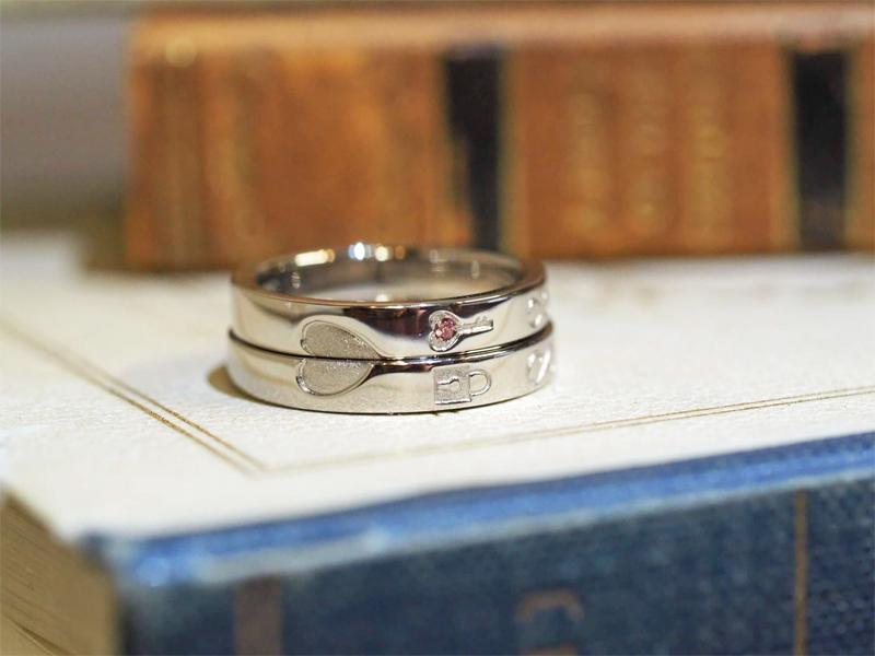 世界で2人だけのオーダーメイド結婚指輪が手に入る