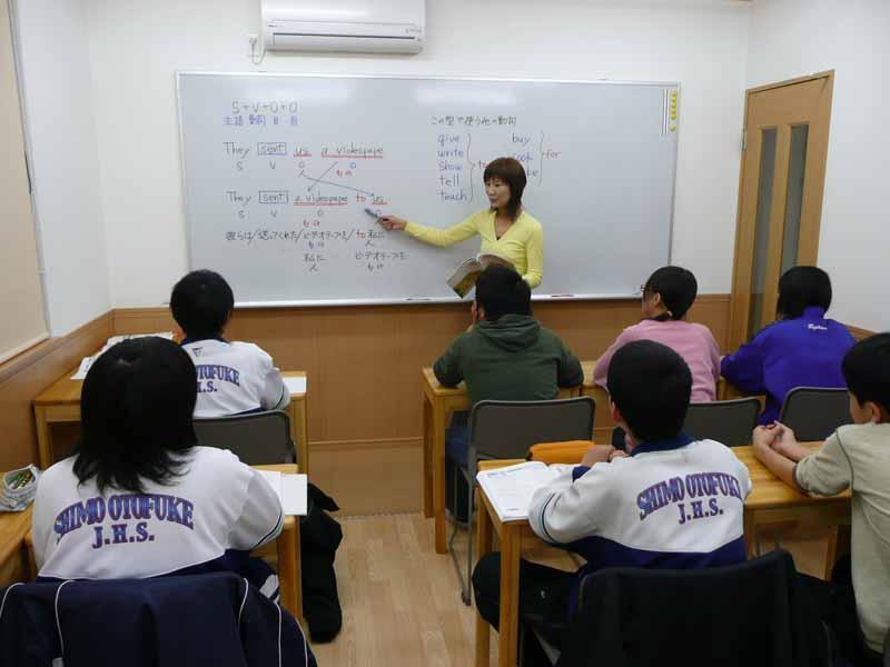 中学部少人数制クラス集団指導 わかるまで教えます。