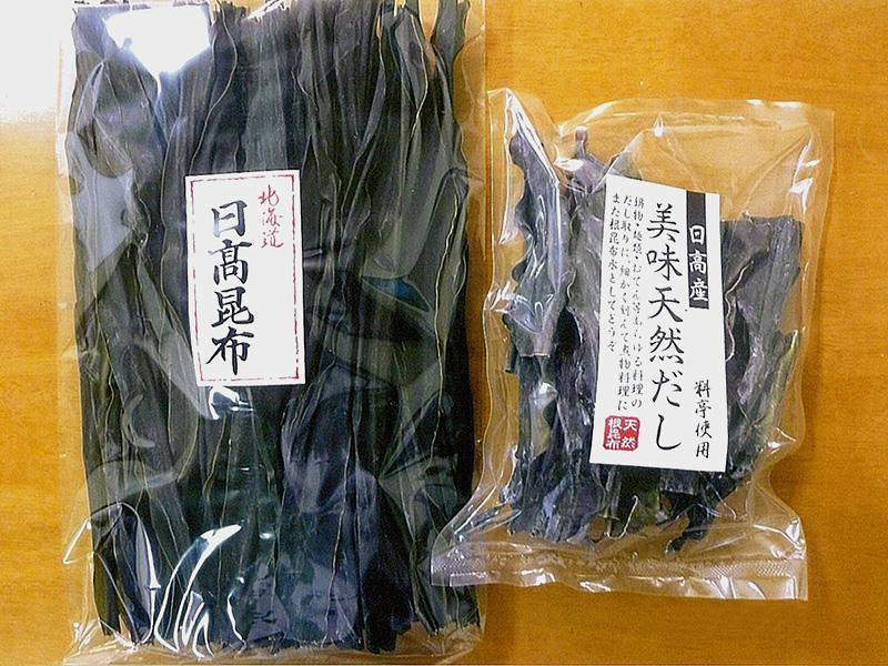 北海道産の昆布