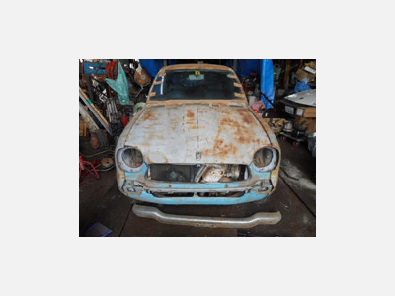 旧車のレストア
