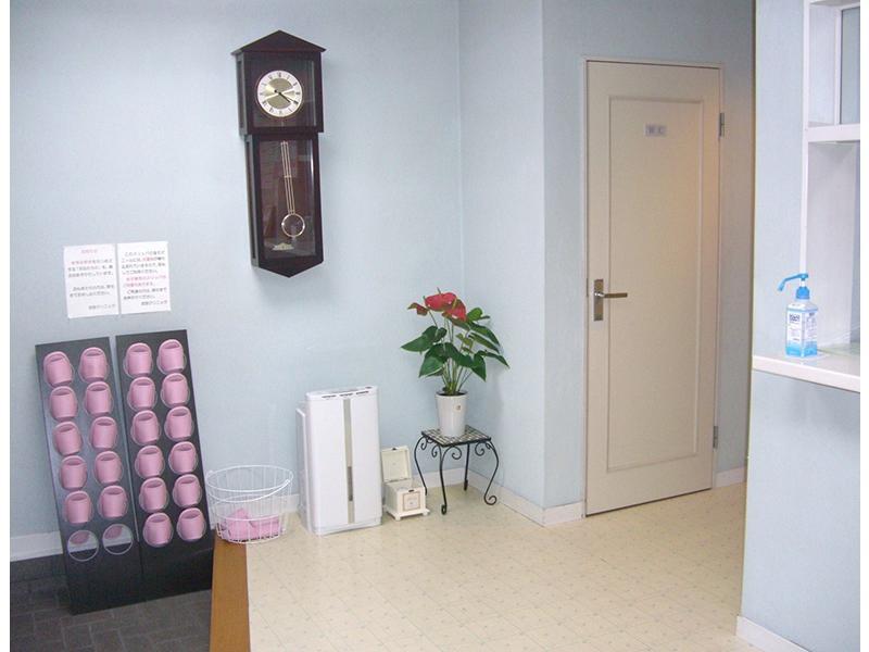 待合室 清潔でリラックスできる空間を目指しています