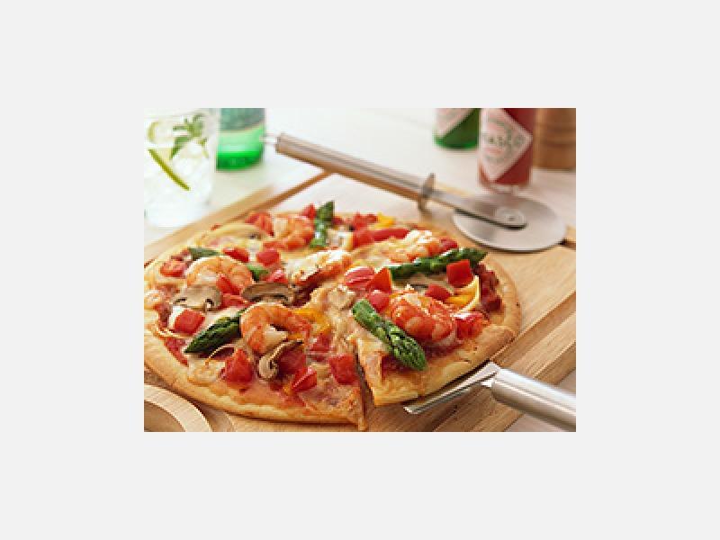 トッピングいろいろミックスピザ