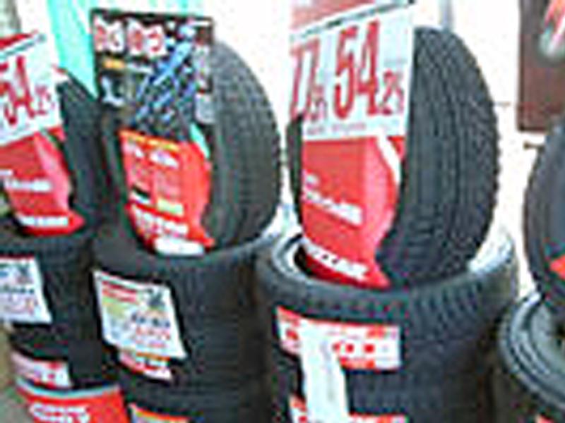 各種タイヤ・ホイール販売、交換・修理