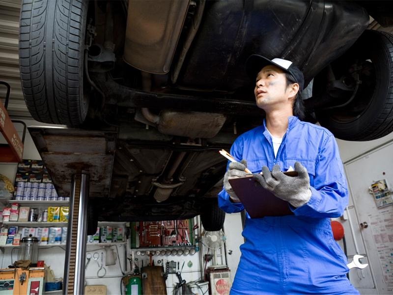 パンク修理・車体修理もお任せ下さい