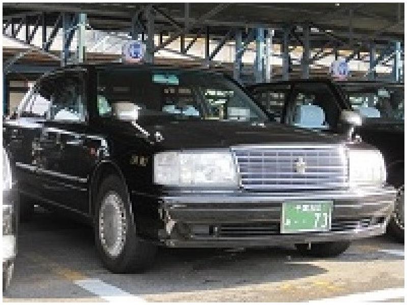 タクシー車輌(セドリック・クラウン)
