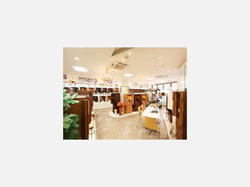武蔵野市 吉祥寺駅 仏壇・仏具 品数豊富 お仏壇の日本堂