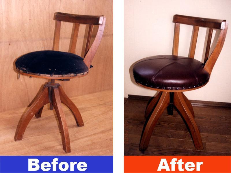 椅子の張替承ります。