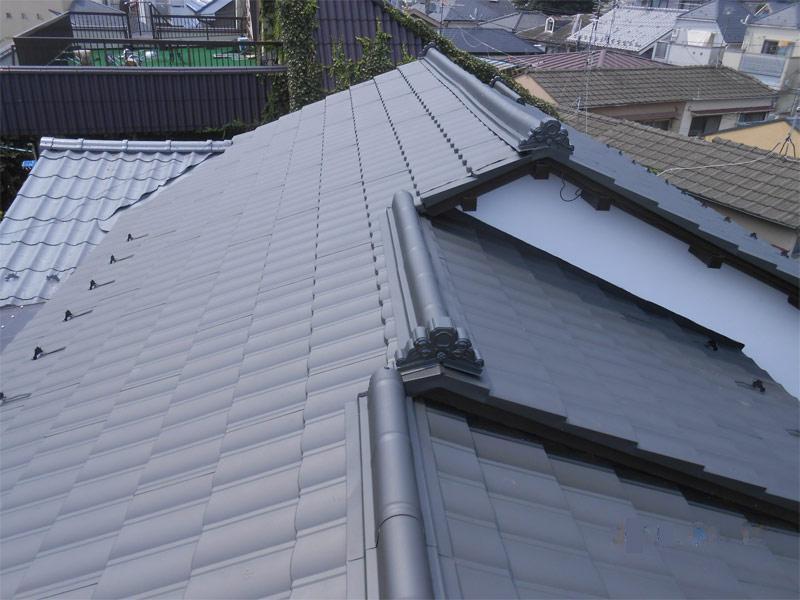 after:地震に強い軽い屋根材に葺き替えました