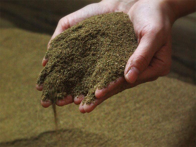 サラサラの糠の温度は60~70度です