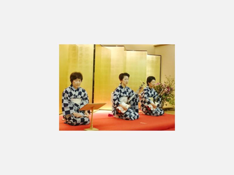 長唄は江戸から伝わる粋な音楽です。