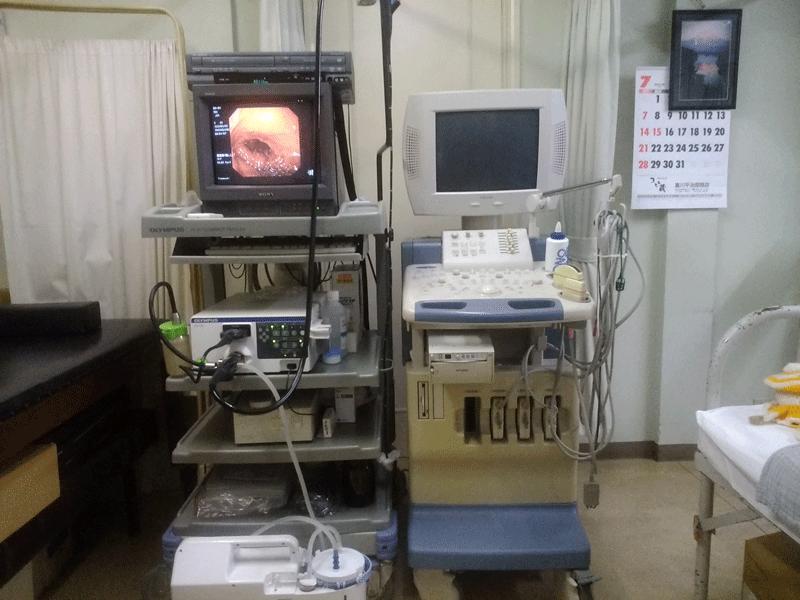 細径経鼻内視鏡システム・超音波診断(エコー)検査装置