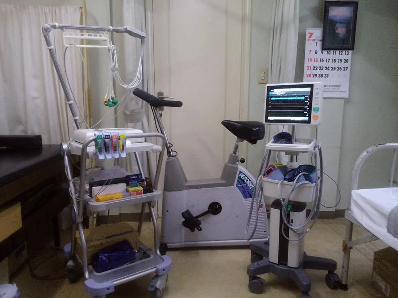 運動負荷心電図検査・血管伸展性検査