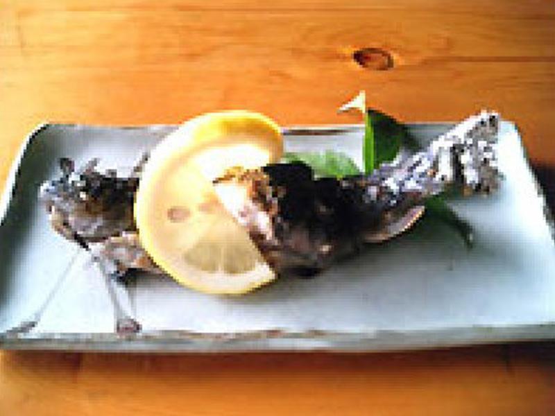 新鮮な川魚等単品メニュー。