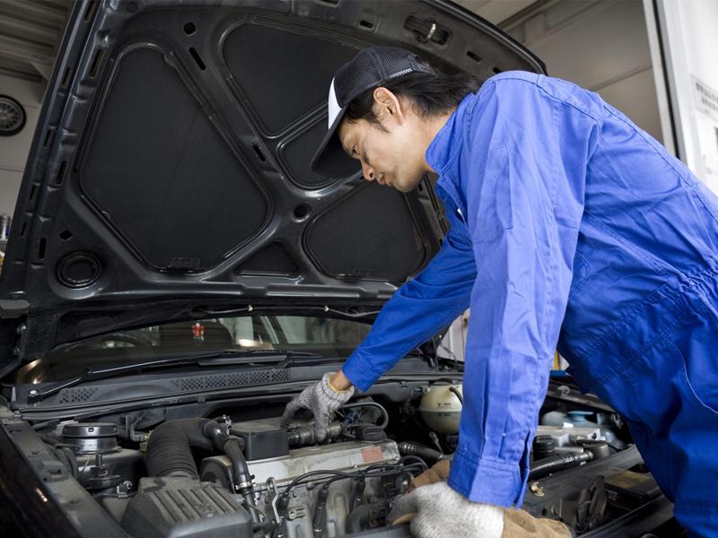 登米市の縣北自動車整備工業