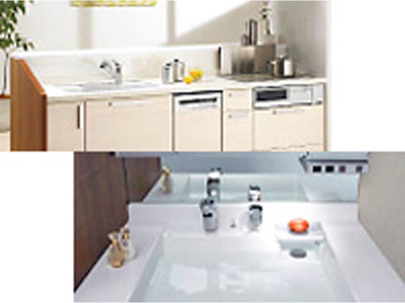 ◆キッチンの修理/洗面化粧台の修理