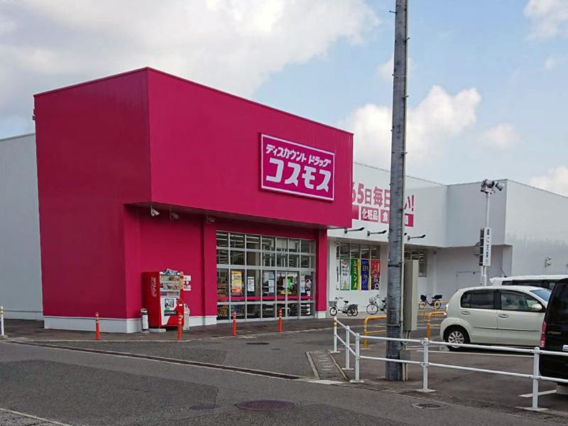 ディスカウントドラッグ・コスモス秋根東店のウラ