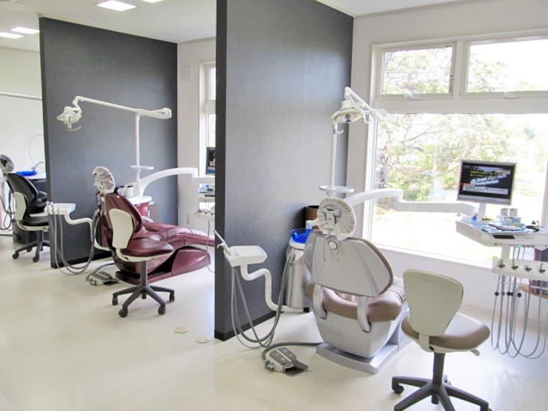 半個室治療台