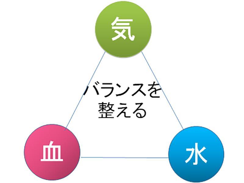 漢方で全身の機能の正常化・調和を目指します