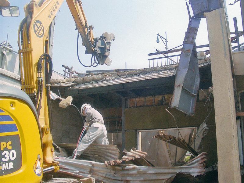 一般住宅解体工事から