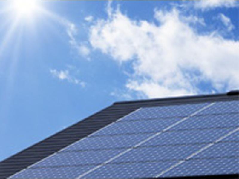 太陽光発電システムも
