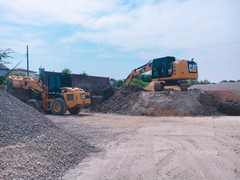 砂石砕運搬販売業務