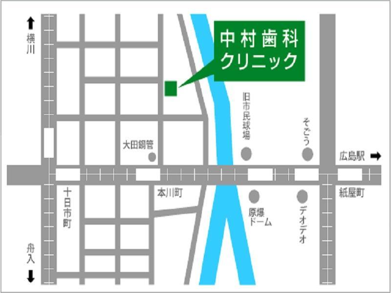 本川町駅から徒歩約2分です