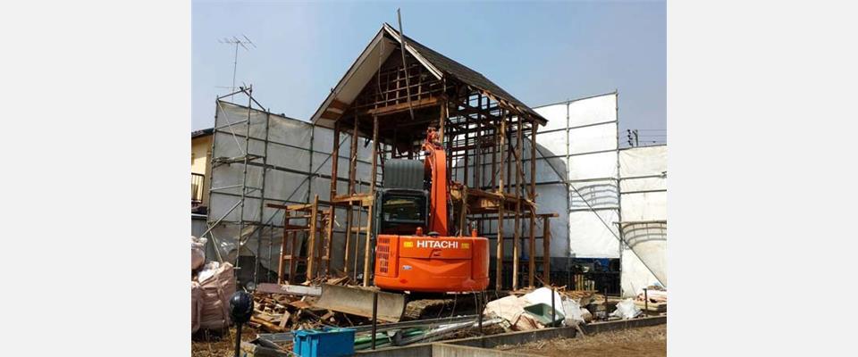 解体工事、リフォーム、外構工事は茨城県の丸三建設