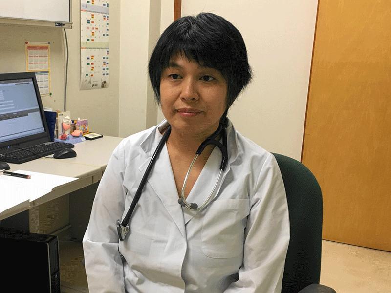 女性医師による外来