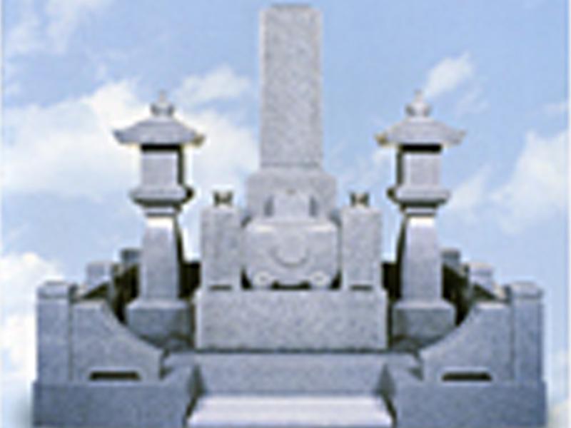 自社製品の墓石