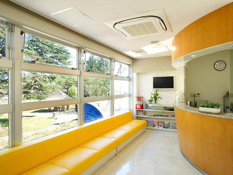 みやべ歯科:待合室です